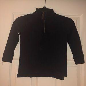 J. Crew Shirts & Tops - J Crew Crew cuts popover sweatshirt